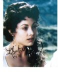 "Leah Gibson signed autograph  from Twilight signed 10"" x 8"""